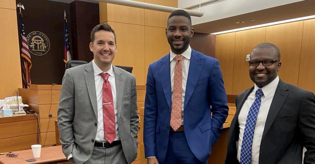 Joseph Wilson, Leonard Mathis, and Matt Wetherington won a trial verdict in Fulton County Georgia